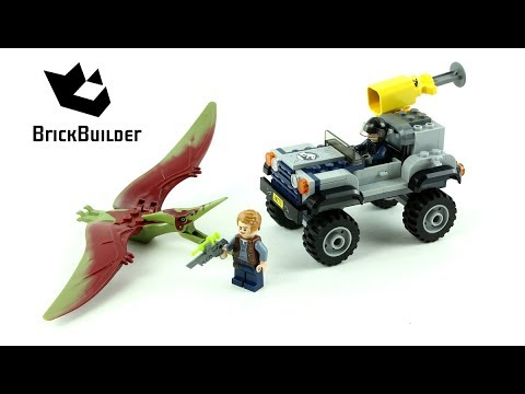 Lego Jurassic World 75926 Pteranodon Chase - Lego Speed build