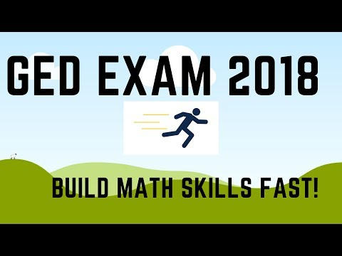 GED Exam 2018 Build Your Math Skills Fast (4 Tips)