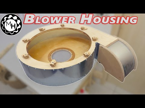 Building a Big Dust Collector Blower #2