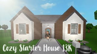 Bloxburg Cozy Starter House 13k