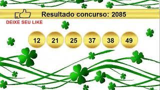 Sorteio Resultado Mega Sena 2085 Palpite 2086