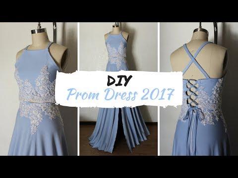 DIY Prom Dress 2017