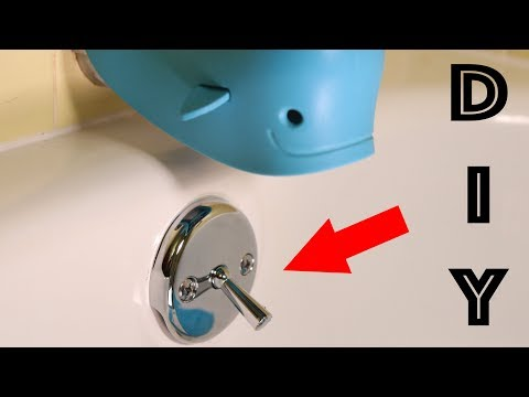 How to remove and replace a bathtub drain stopper