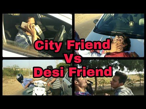 Xxx Mp4 City Friend Vs Desi Friend Fun2bhai Funny Video 3gp Sex