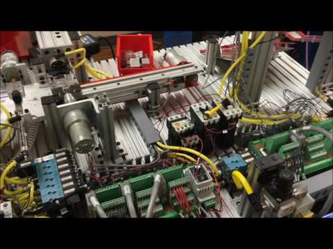 Speed Control of a DC Motor by a Supervisory Control PLC connected over Profibus Network