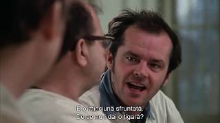 One Flew Over The Cuckoos Nest - I Want My Cigarettes Full Scene - Movie Clip HD