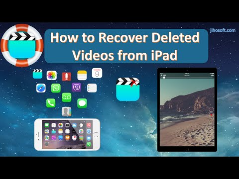 How to Recover Deleted Videos from iPad