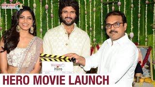 Vijay Deverakonda Hero Movie Launch | Malavika Mohanan | Anand Annamalai | Mythri Movie Makers