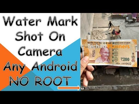 Watermark | Shot on in any Moto G4 Plus | G5 Plus | G4 | G5 | Z | Z2 | No Root