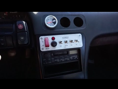 240sx Ignition Switch Panel Install