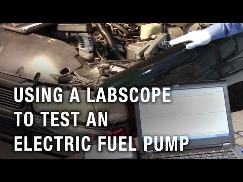 Using a Labscope To Test An Electric Fuel Pump