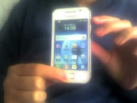 How to take screen shots on the Samsung Galaxy Ace
