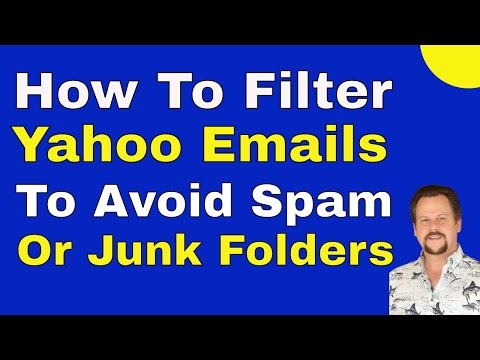 How to filter Yahoo Mail to avoid Spam Folder or Junk Folder