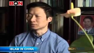 100 million Muslims in China. Islam is growing among Chinese