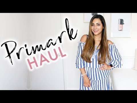 MAY 2018 PRIMARK HAUL & TRY ON   NEW IN PRIMARK MAKEUP MAY 2018   Ysis Lorenna