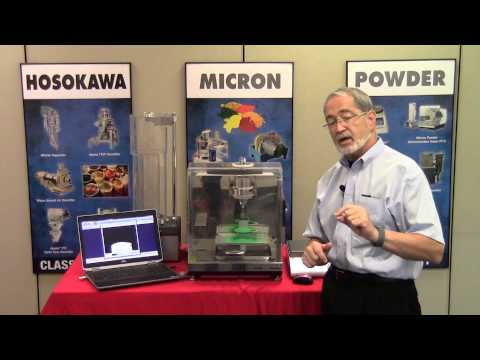 Angle of Repose, Fall & Spatula Testing with the Micron Powder Characteristics Tester PT-X