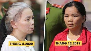 Bùi Thị Kim Thu tóc bạc trắng cùng đồng phạm hầu tòa vụ nữ sinh giao gà