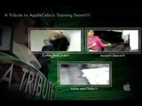 Tribute to Apple Cebu Trainers (Use Fullscreen)