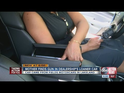 Lakeland mom finds gun in Mercedes loaner car