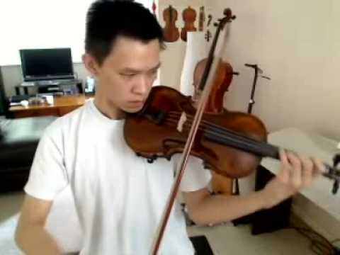 What is the highest note you can play on the violin?