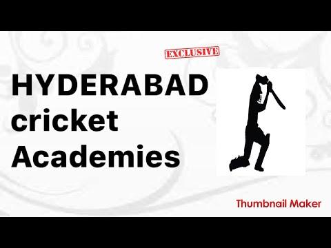 Hyderabad cricket Academies? हैदराबाद क्रिकेट अकडेमीस 2017