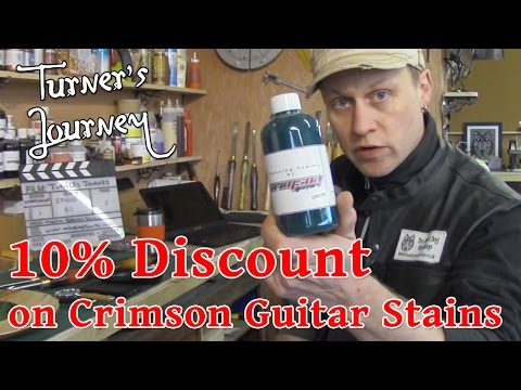 E61 Discount on Crimson Guitar Stains for You and Phone is IN!!!
