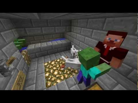 Minecraft Fully Automated XP Farm (While AFK)