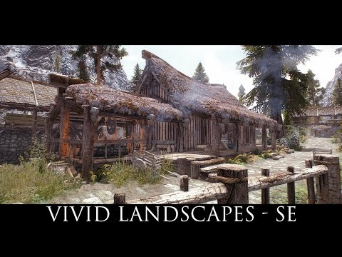 Skyrim SE Mods: Vivid Landscapes - All in One - Special Edition