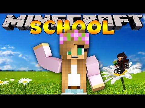 Minecraft School : A GIRL JOINS THE CLASS!