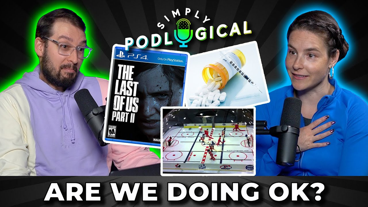 Ben's Crying at Video Games & Cristine's On Steroids - SimplyPodLogical #25