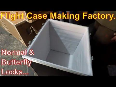 DJ Equipments Flight Case Making Factory - Delhi Vlogs