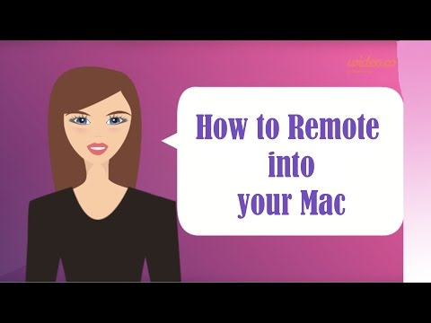How To Remote in to your Mac with Apple's free Remote Desktop - ARD