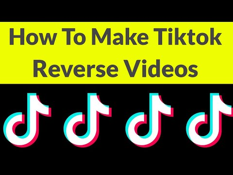 How To Make Reverse Video On Tik Tok & Create Your Best Videos-2019