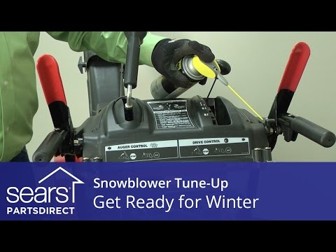Snowblower Tune-Up: Get Ready for Winter