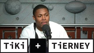 Josh Jacobs Is Ready For The NFL Draft | Tiki + Tierney