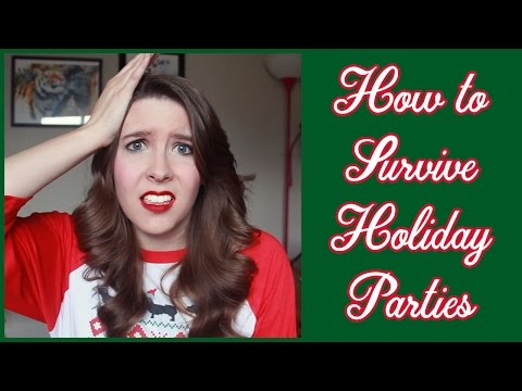 How to Survive Holiday Parties (When You Have Social Anxiety)