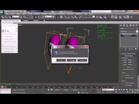 TUTORIAL: CARTOON EYE RIG [PART 1] (3Ds MAX)