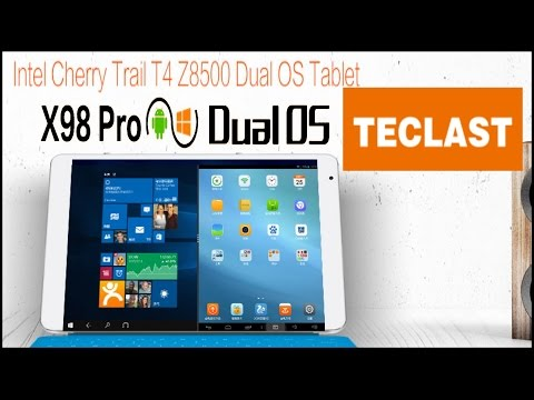 Defective Teclast x98 Pro Android 5.1/Win 10 Dual Boot