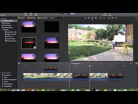 Add Photos to iMovie 10