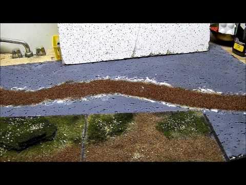 Miniature Gaming Board Tutorial Part 1 - Wargaming - Lord of the Rings Minis - Warhammer