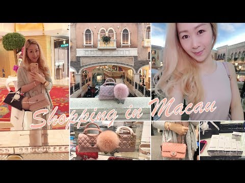 VLOG - SHOPPING IN MACAU 🇲🇴 LUXURY SHOPPING 🛍 CHANEL, LOUIS VUITTON, DIOR AND MORE ❤️