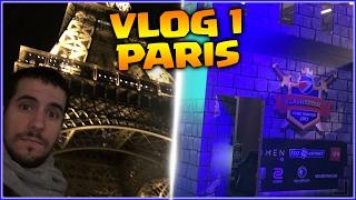 LLEGO A PARIS Y GANAMOS EL QUALIFIER: MUKLASH ARMY - VLOG DIA 1 y 2 - CLASH ROYALE COMPETITIVO