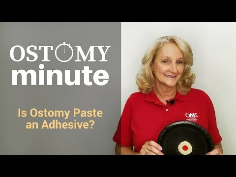 Is Ostomy Paste an Adhesive?