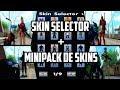 Skin selector + MiniPack de Skins | Gta San Andreas | 2017