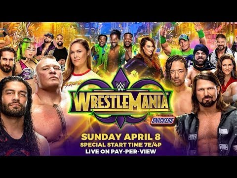 Predictions For WWE WrestleMania 34 VIDEO