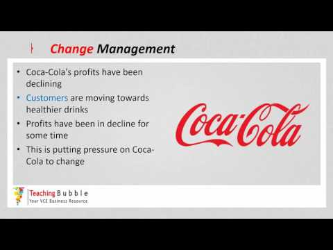 VCE Business Management - Business Change
