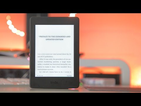 Kindle Paperwhite 2016 Review -  Better than a book?