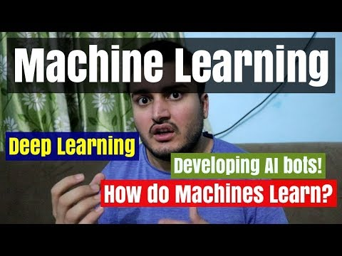 Machine Learning - Teaching Machines to learn from the Data or Experience