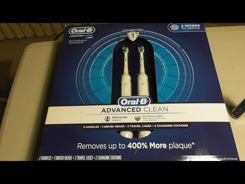 ORAL B ADVANCED CLEAN TOOTHBRUSH Costco item #907391 REVIEW
