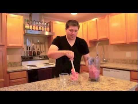 Ice Cream - Strawberry & Banana Ice Cream! Vitamix - VitaMixology